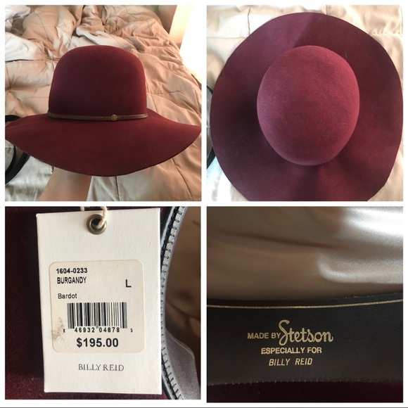 1125f876db060a Stetson Other | Burgundy Hat | Poshmark